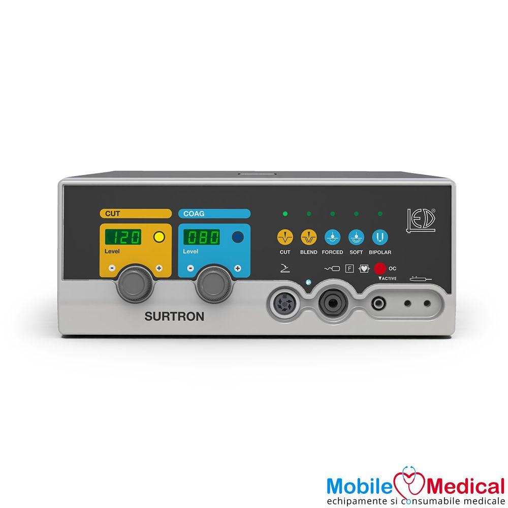 Electrocauter SURTRON 120 monopolar si bipolar pentru electrochirurgie - 120W - Front