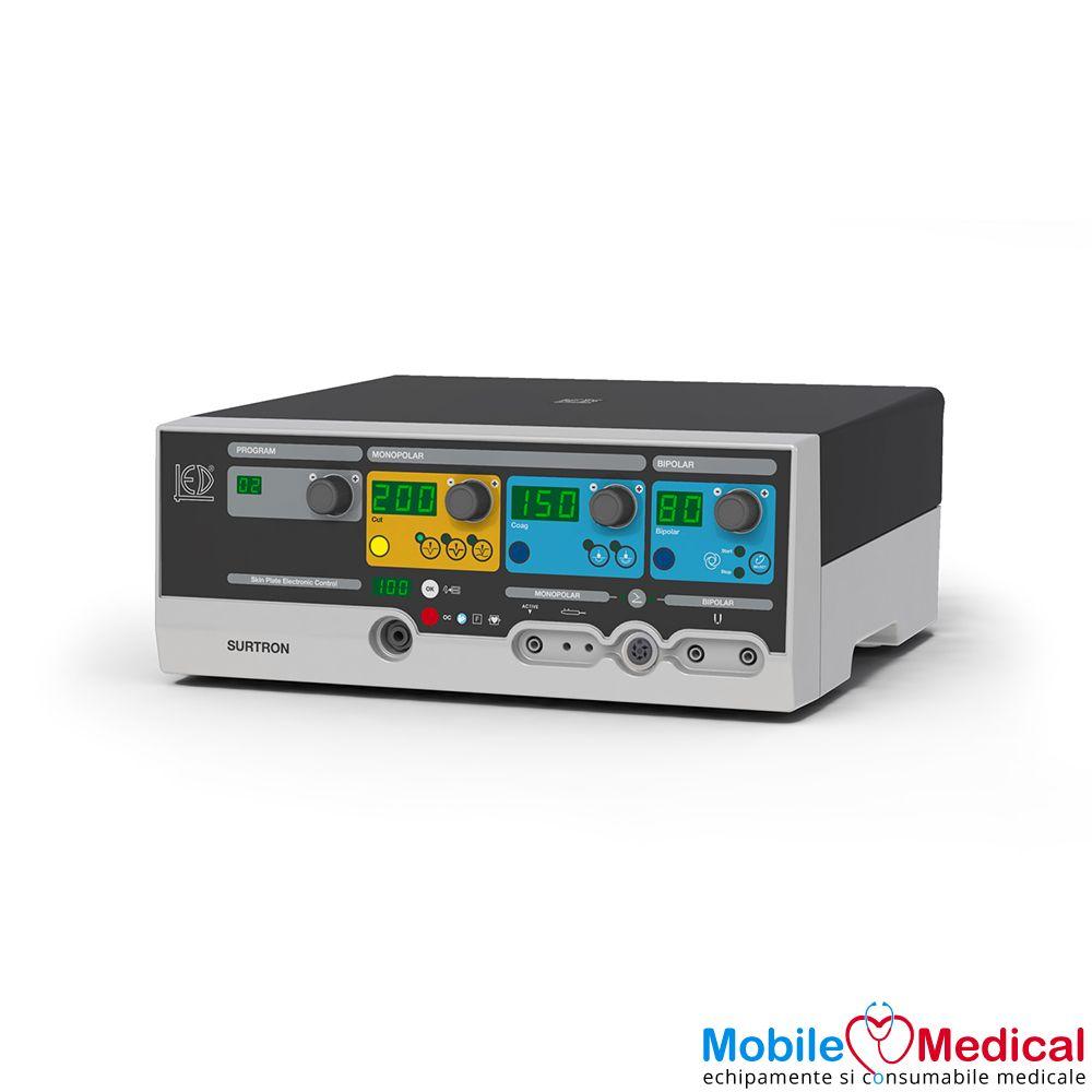 Electrocauter SURTRON 200 monopolar si bipolar pentru electrochirurgie - 200W - Perspectiva