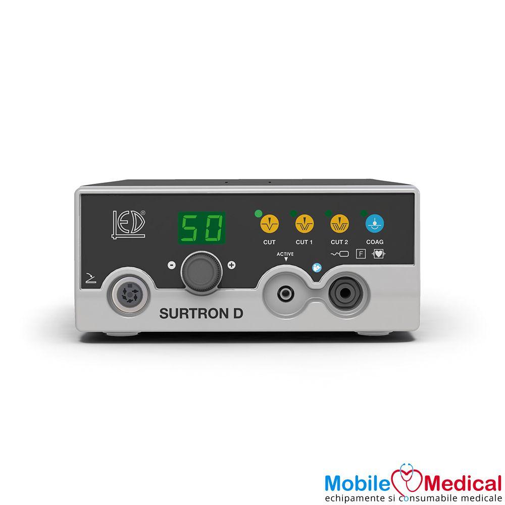 Electrocauter SURTRON 50D monopolar pentru electrochirurgie - 50W - Front