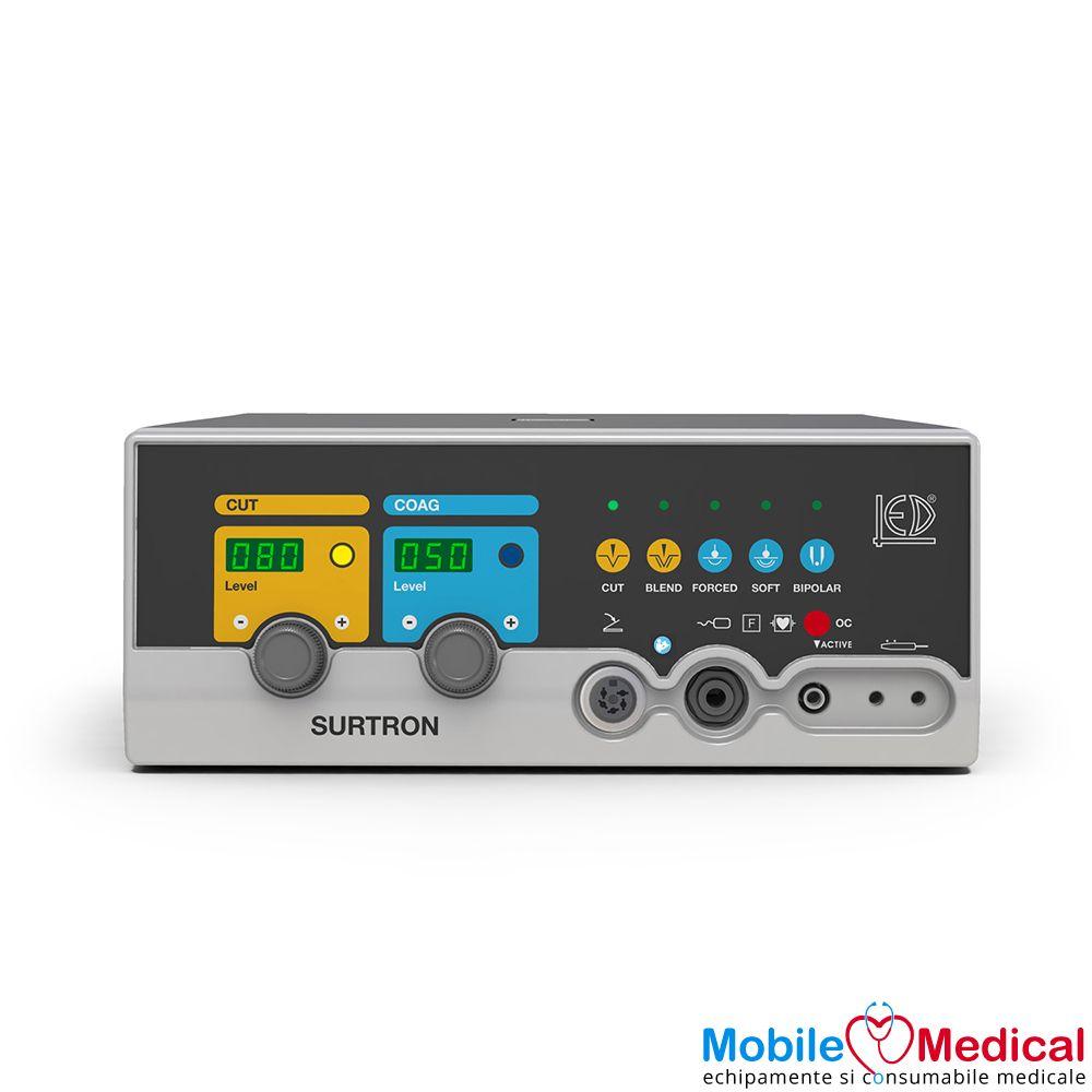 Electrocauter SURTRON 80 monopolar si bipolar pentru electrochirurgie - 80W - Front