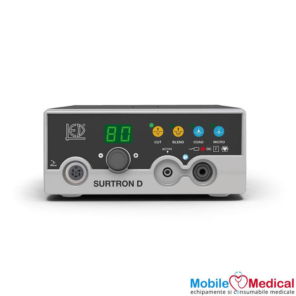 Electrocauter SURTRON 80D monopolar pentru electrochirurgie - 80W - Front