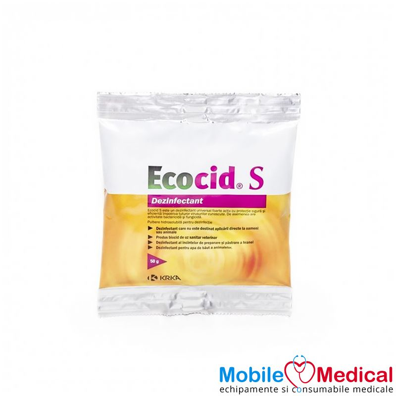 Dezinfectant universal, biocid, Ecocid S, 50 g