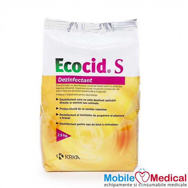 Dezinfectant universal, biocid, Ecocid S, 2.5 kg